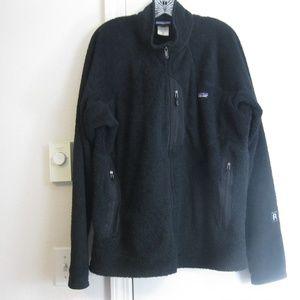Men's Patagonia R2 Fleece Jacket - Black - XL